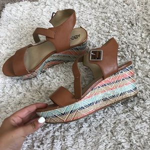 Abound colorful wedges
